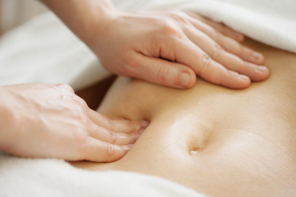 Colon-Massage-Bauch Ab- und Ausleitende Verfahren